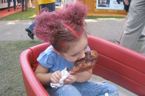 I cannot guarantee the origins of this State Fair turkey leg